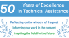 Celebrating 50 Years of Excellence in TA: Reflecting on the Wisdom of the Past