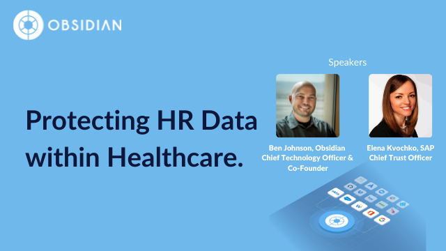 Protecting HR Data within Healthcare