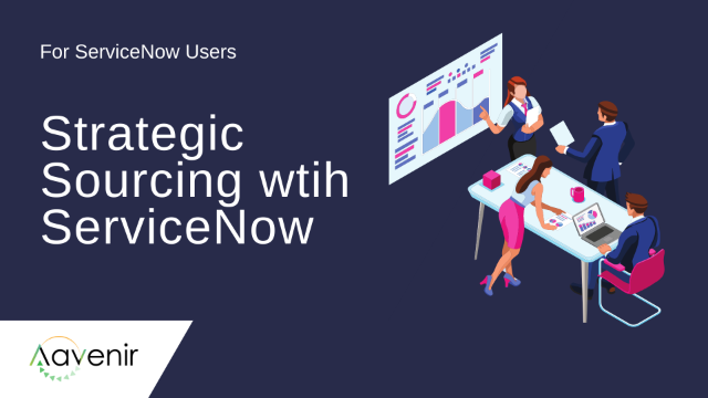 Automate Sourcing Using RFx on ServiceNow