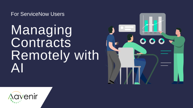 Use AI + Digital Workflows to Manage Contracts Remotely