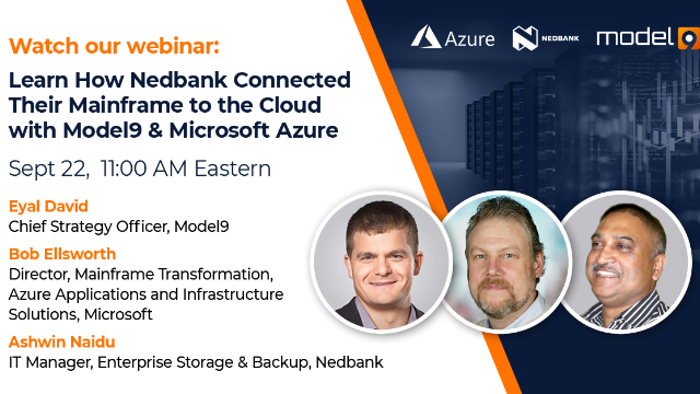 How Nedbank Connected Their Mainframe to the Cloud with Model9 & Microsoft Azure
