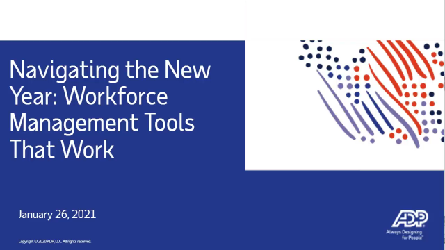 Workforce management tools that help you do better work