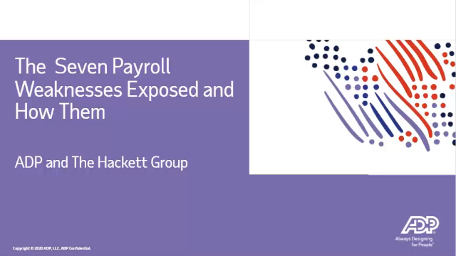7 Payroll Weaknesses Exposed by the Global Health Event