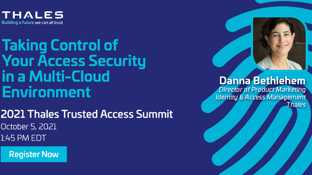 Taking Control of Your Access Security in a Multi-Cloud Environment