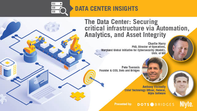 Securing critical infrastructure via Automation, Analytics, and Asset Integrity