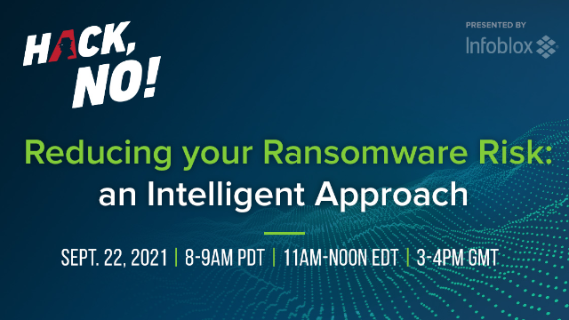 Hack, No! Reducing your Ransomware Risk: an Intelligent Approach