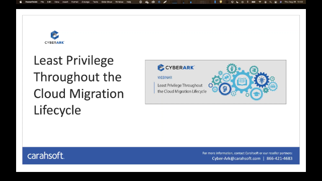 Least Privilege Throughout the Cloud Migration Cycle