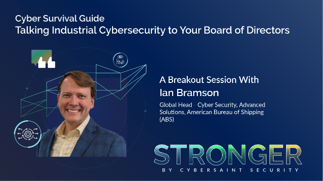 Talking Industrial Cybersecurity to Your Board of Directors