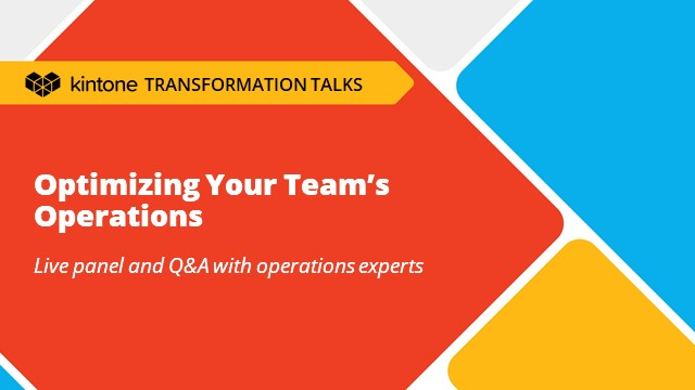 Transformation Talks: Optimizing Your Team's Operations