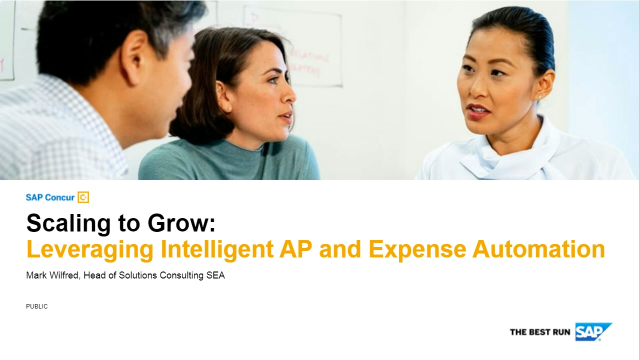 Scaling to Grow: Leveraging Intelligent Accounts Payable and Expense Automation