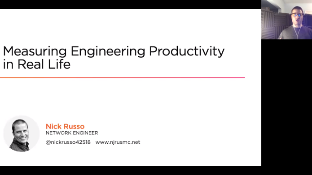 Measuring Engineering Productivity in Real Life