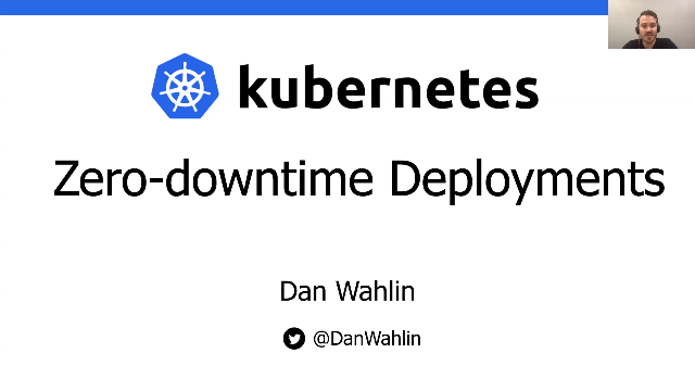 Zero-downtime deployments in Kubernetes
