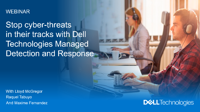 Stop cyber-threats in their tracks with Managed Detection and Response