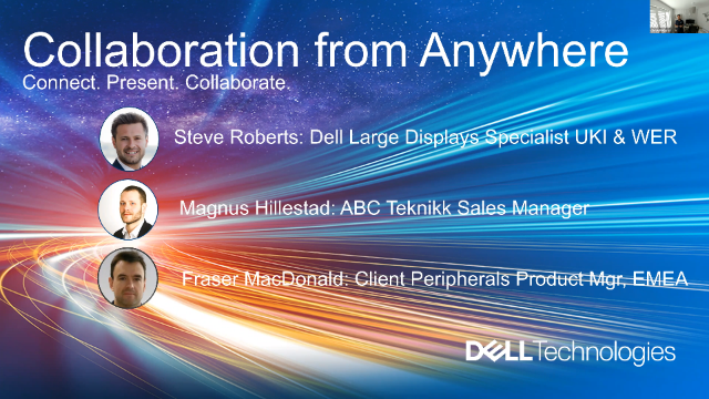 Enabling Collaboration from Anywhere with Dell Technologies & ABC Teknikk