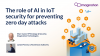 The role of AI in IoT security for preventing zero day attacks