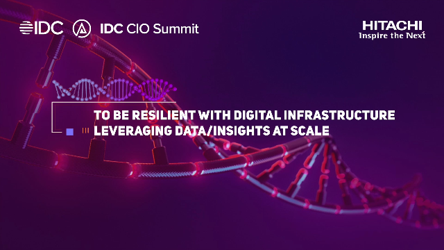 How to be Resilient with Digital Infrastructure and Leveraging Data at Scale