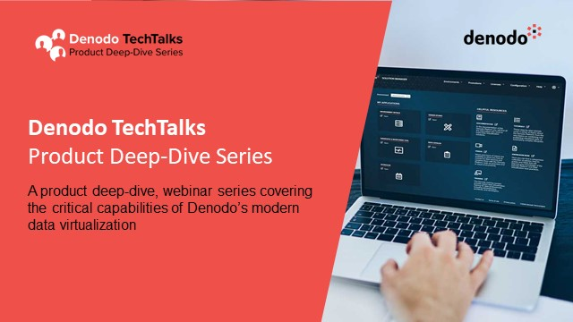 Accelerate your Data Science Ops using Denodo