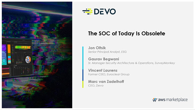 The SOC of Today Is Obsolete