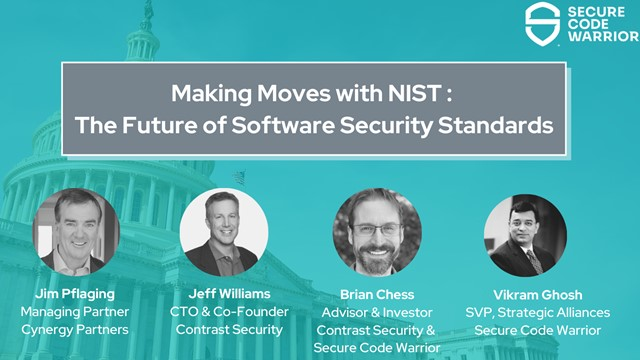 Making Moves with NIST: The future of software security standards
