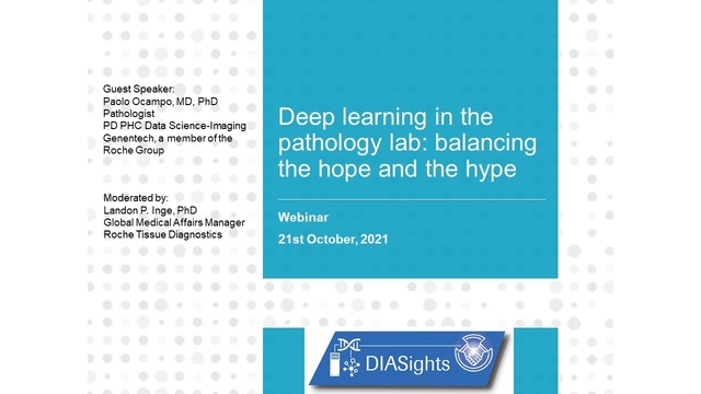 Deep learning in the pathology lab: balancing the hope and the hype