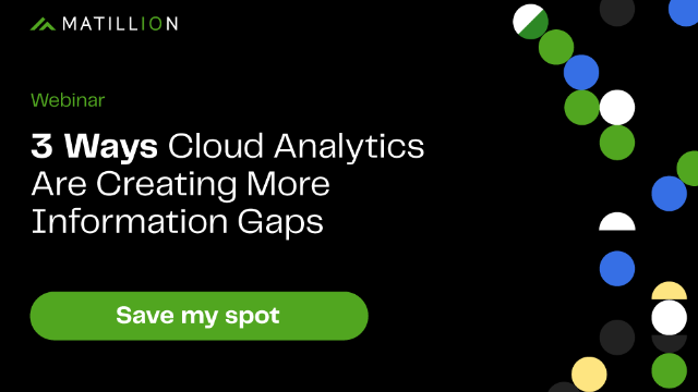 3 Ways Cloud Analytics Are Creating More Information Gaps