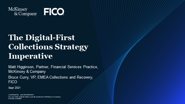 The Digital-First Collections Strategy Imperative – McKinsey & FICO
