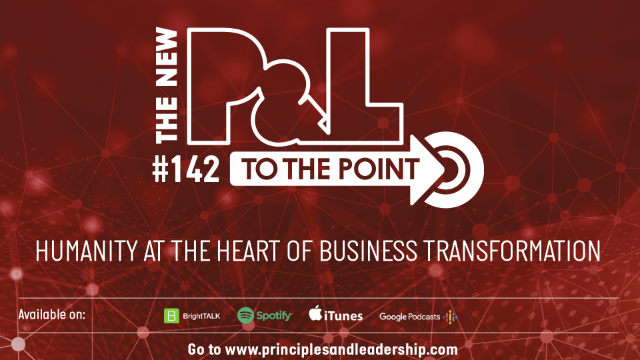 The New P&L TO THE POINT on Humanity at the Heart of Business Transformation