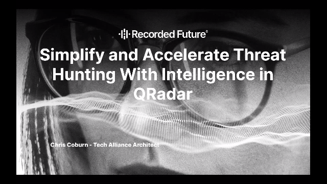 Simplify and Accelerate Threat Hunting With Intelligence in QRadar