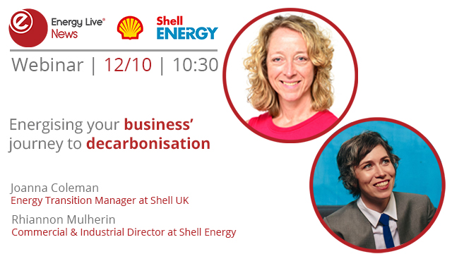Energising your business' journey to decarbonisation