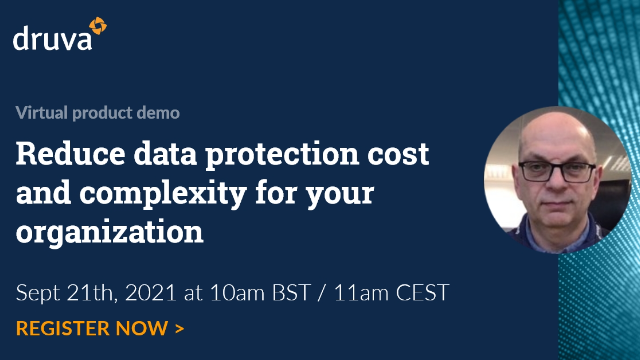 Reduce data protection cost and complexity for your organization