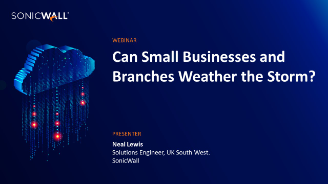 Can Small Businesses and Branches Weather the Storm?