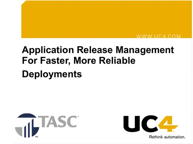 Application Release Management For Faster More Reliable Deployments