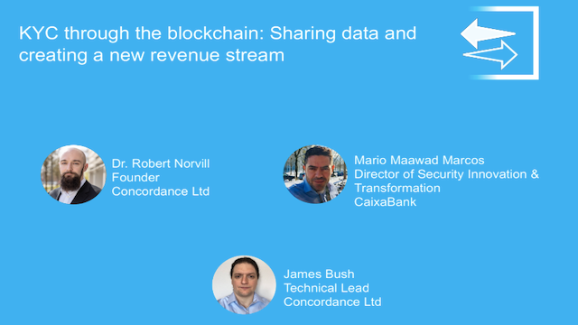KYC through the Blockchain: Sharing Data and Creating a New Revenue