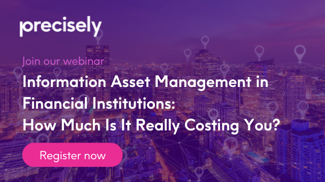 Information Asset Management in Financial Institutions: How Much Does Cost?