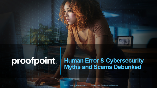 Human Error & Cybersecurity: Myths & Scams Debunked Featuring Forrester Research