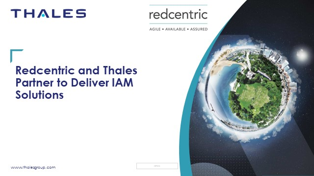 Case Study: RedCentric and Thales Partner to Deliver IAM Solutions