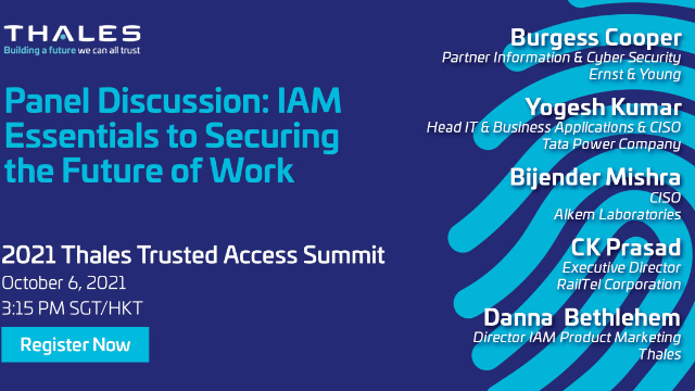 Panel Discussion: IAM Essentials to Securing the Future of Work