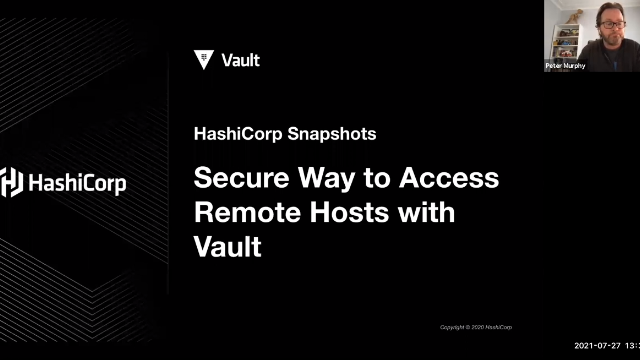Secure Way to Access Remote Hosts with Vault