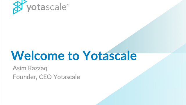 Welcome to Yotascale