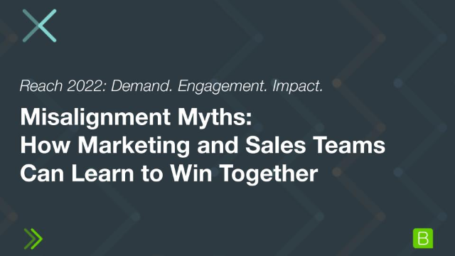 Misalignment Myths: How Marketing and Sales Teams Can Learn to Win Together