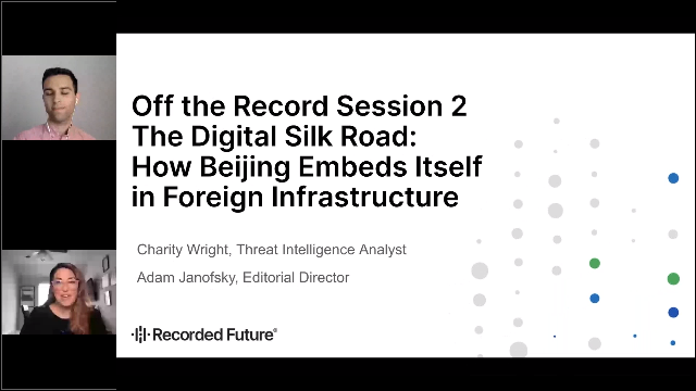 The Digital Silk Road: How Beijing Embeds Itself in Foreign Infrastructure