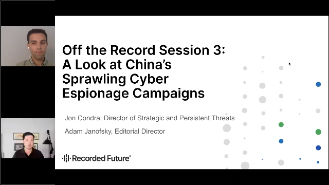 A Look at China's Sprawling Cyber Espionage Campaigns