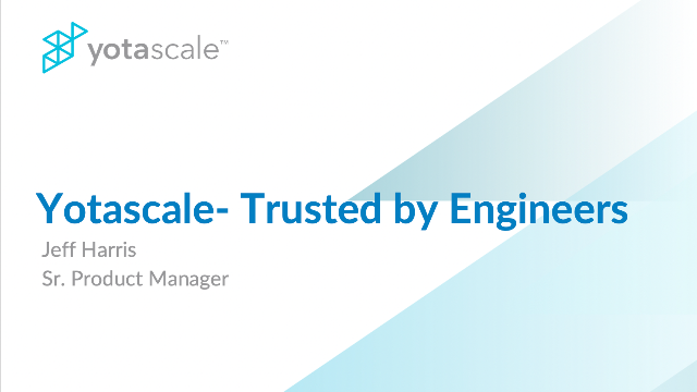 Yotascale - Trusted by Engineers