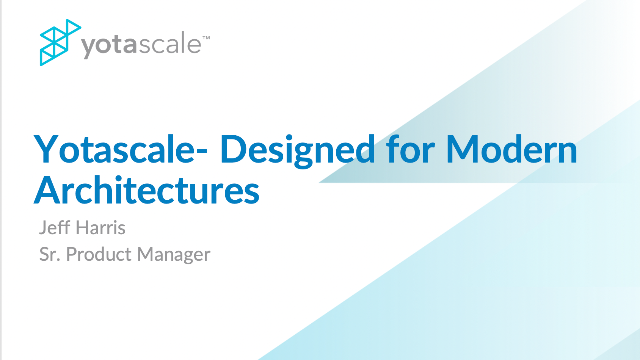 Yotascale - Designed For Modern Architectures