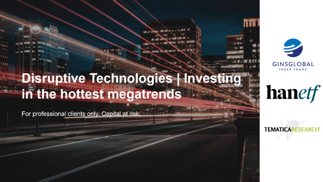 Disruptive Technologies   Investing in the hottest megatrends
