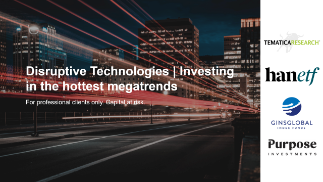 Disruptive Technologies | Investing in the hottest megatrends
