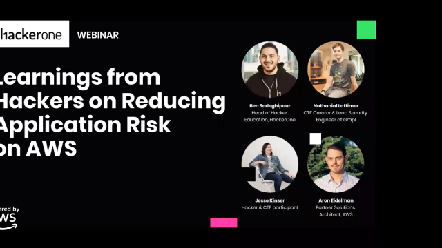 Learnings from Hackers on Reducing Application Risk on AWS