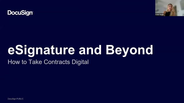 eSignature and Beyond: Automate Your Complete Agreement Process