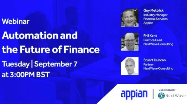 Automation and the Future of Finance