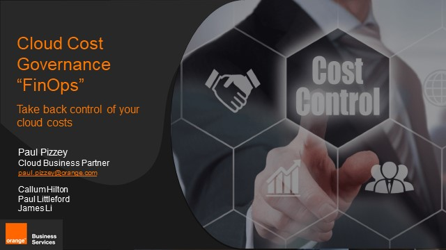 """""""FinOps"""" – take back control of your cloud costs"""